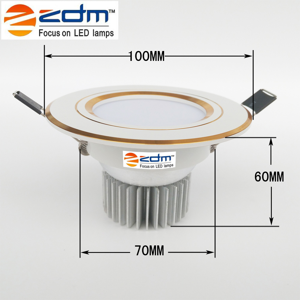 ZDM 2W 2,5 pouces Dimmable LED Downlight