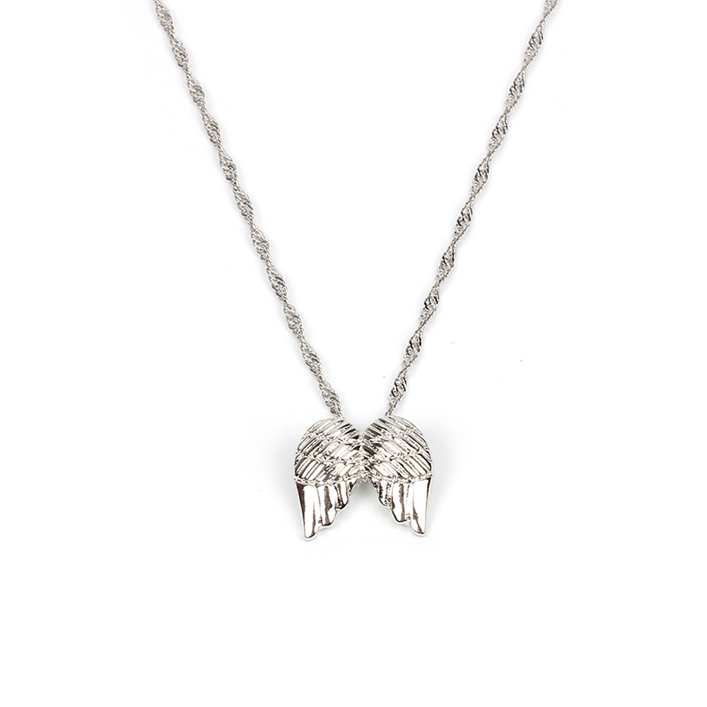 Ensemble de collier en métal multicouche Love Elephant Clavicle Chain Fashion Wild Jewelry