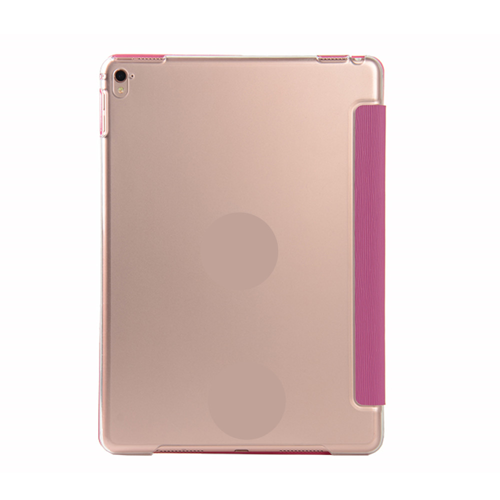 Pour iPad 9.7 Pouces 2017 Tablettes Étuis Candy Couleur Toothpick Grain Tablette Protection de l'Ordinateur Shell