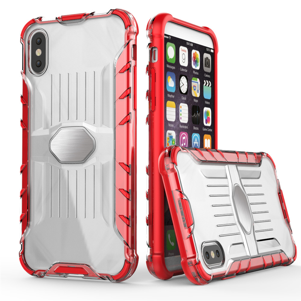 Coque Armored Mobile Phone Shell pour iPhone X