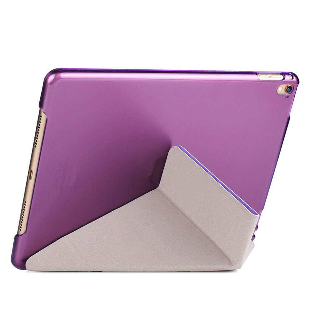 Flip Silk Grain Transformer Tablet pour iPad Pro 9.7