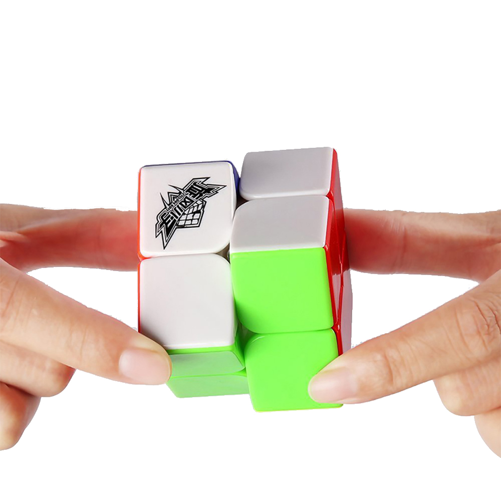 Speed Cube 2 x 2 Smooth Magic Cube Puzzles Jouets