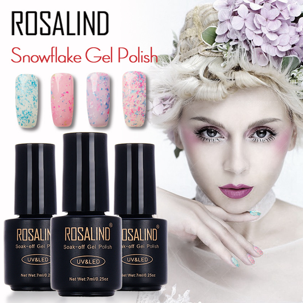 ROSALIND Nouvelle Snow Series Gel Polish 7ML