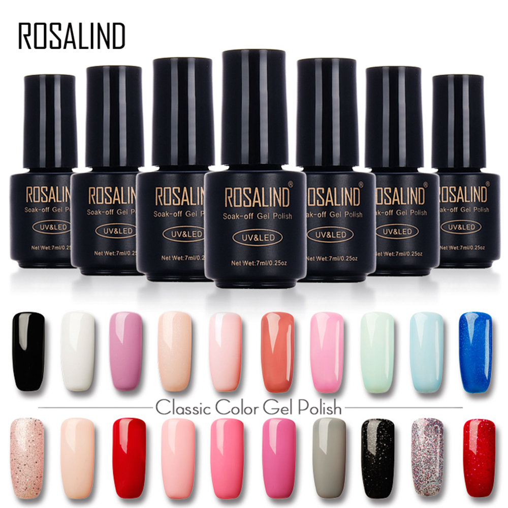 ROSALIND Gelishi Vernis à ongles Gelishi série 60 Colour LED 7ml