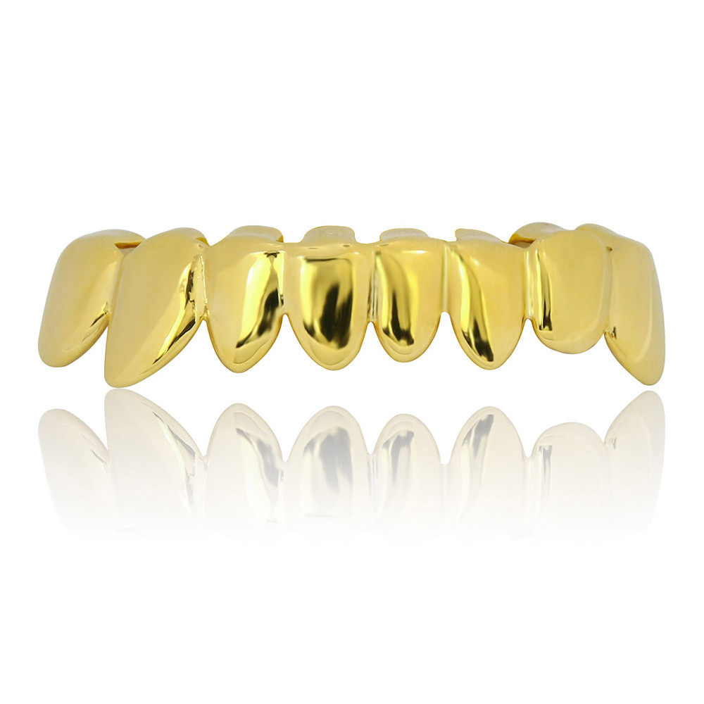 Ensemble Dents Dorés 18K Hip-Hop