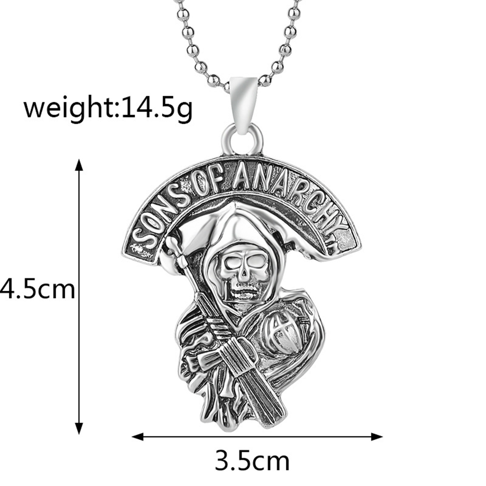 Sons Of Anarchy Pendentif Collier Bijoux
