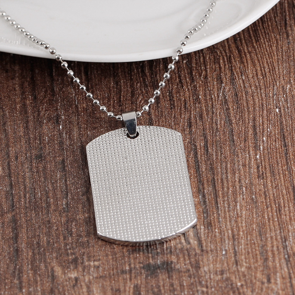 Pour ma fille Love Dad Dog Tag pendentif collier