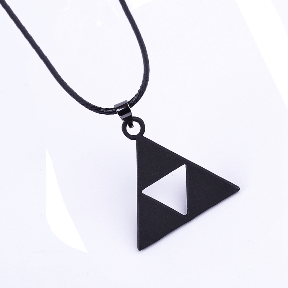 ZELDA Triangle Fashion Mens Chaîne Collier
