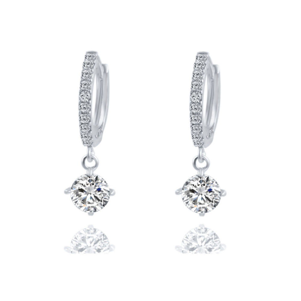 Boucles d'oreilles en cristal Vintage Fashion Ladies