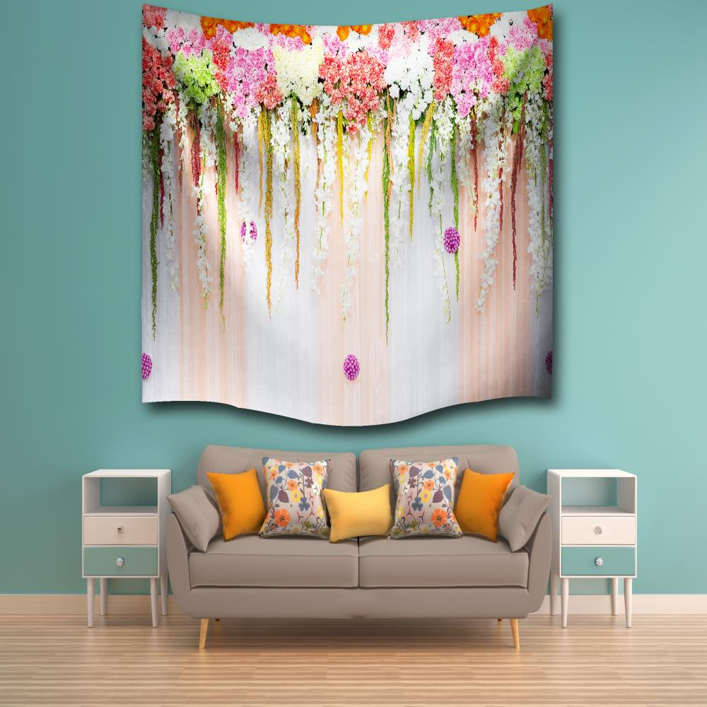 Beach Blanket Color Room Decorations