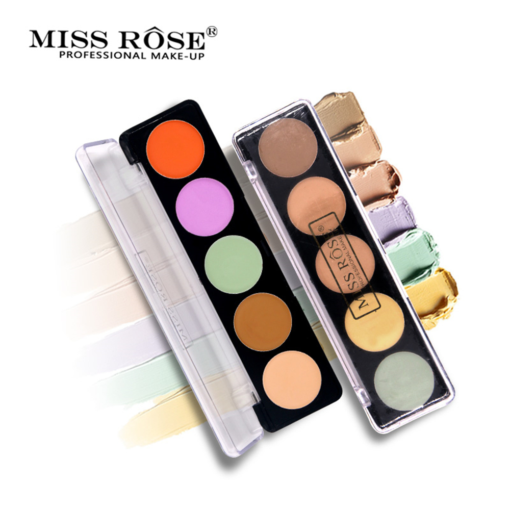 Miss Rose Brighten Visage Concealer Crème Cover Dark Cercles Ance Naturel Hydratant Professionnel Base Maquillage Pores Trouvé