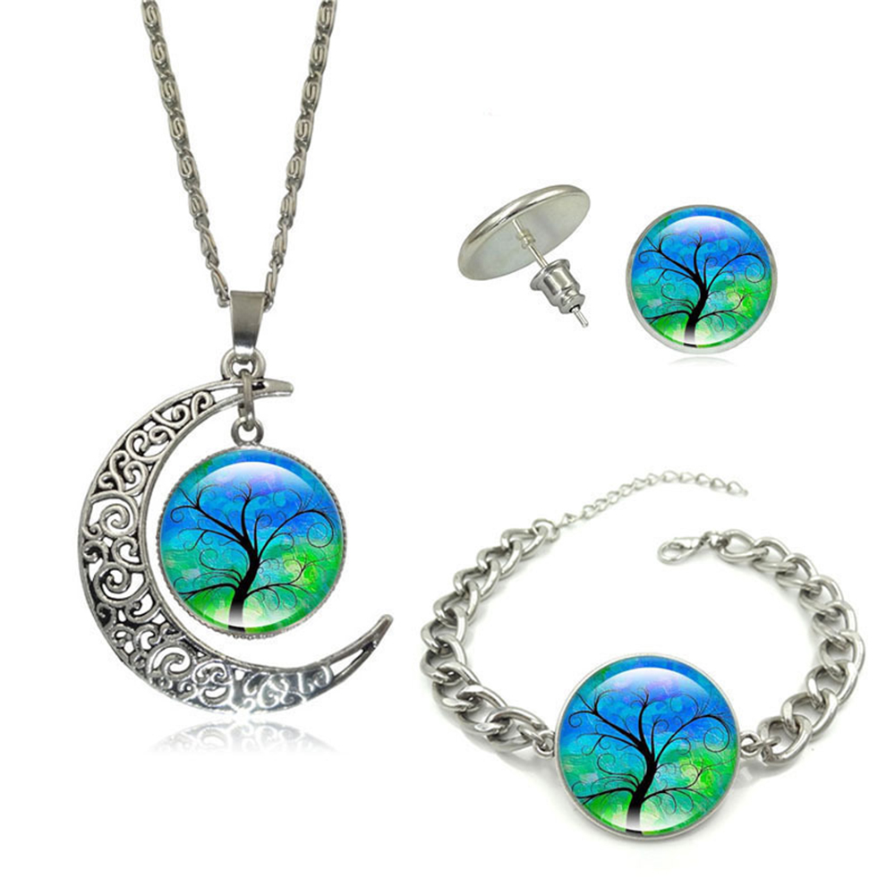 Boucles d'oreilles Bracelet Fashion Tree of Life