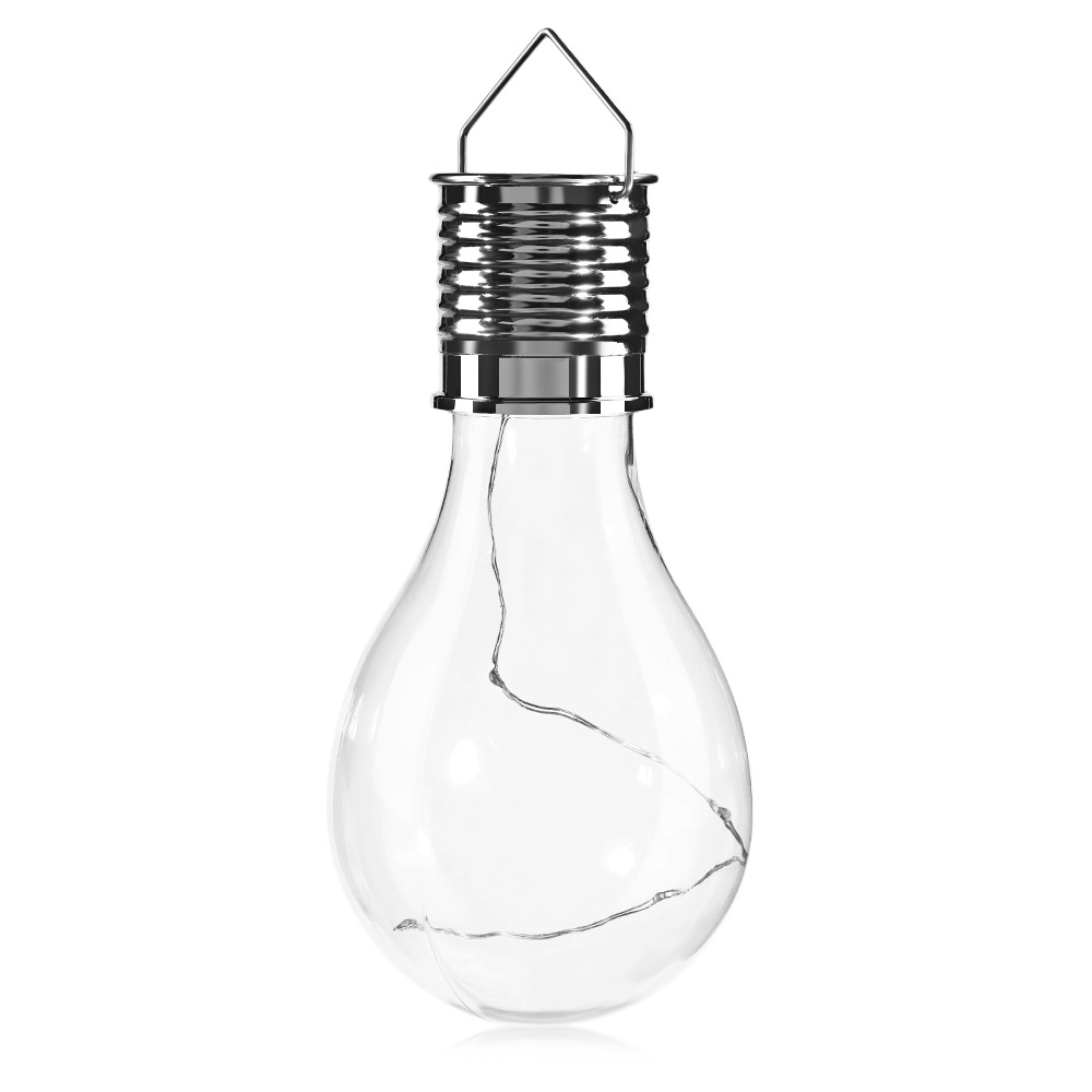 Hanging Lamp Led: Solar Rotatable Outdoor Garden Camping Hanging LED Light